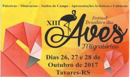 Aberta inscrição para o XIII Festival das Aves Migratórias