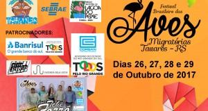 XIII FESTIVAL DAS AVES MIGRATÓRIAS EM TAVARES – RS