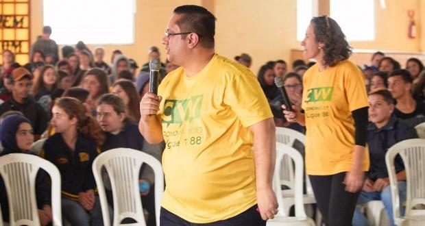 Tavares…um momento especial da Comunidade em reflexão pela valorização da Vida!!!