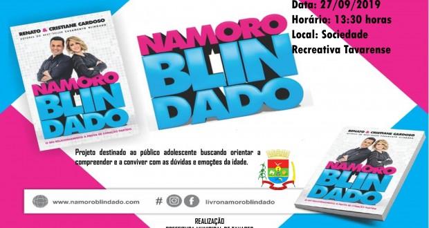 Mais uma ação da Prefeitura Municipal de Tavares voltada à Juventude. Vem aí o Projeto Namoro Blindado!