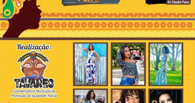 """Vem aí o Concurso """"A Mais Bela Negra de Tavares"""" na Semana da Consciência Negra."""
