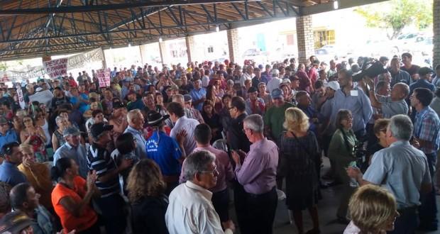 Visita do Ministro do Meio Ambiente Ricardo Salles em Tavares (2019)