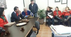 Visita da Escritora Elma Santana e Grupo Folclórico Anita Garibaldi em Tavares (2019)