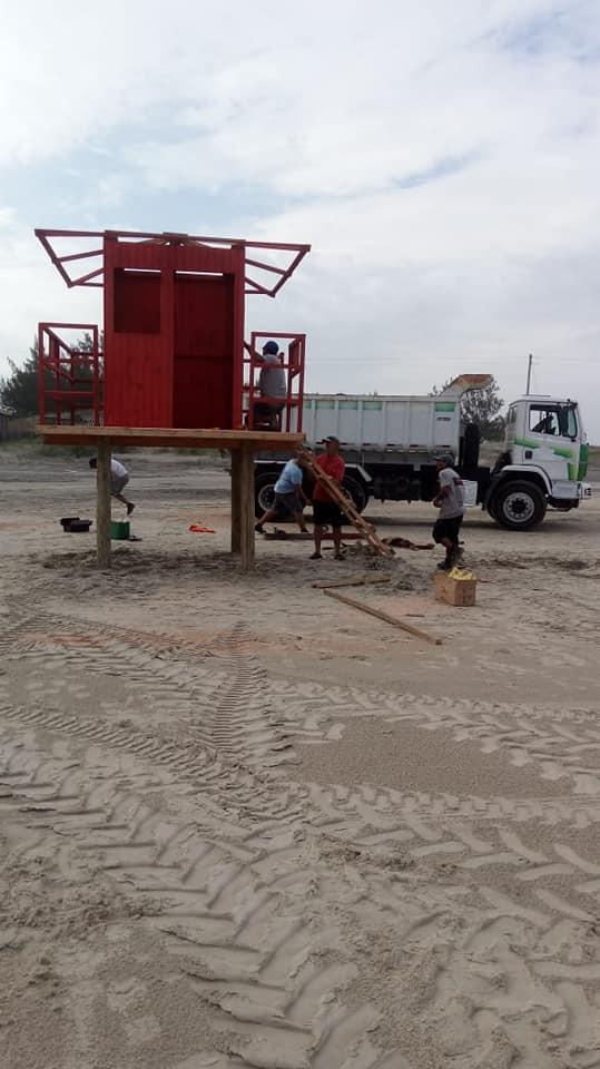 Manutenção Praia do Farol