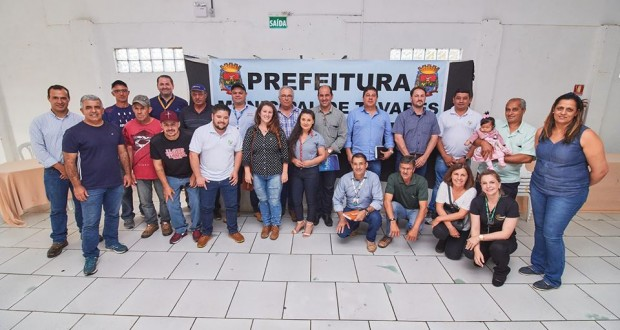 Prefeitura de Tavares em parceria com a UFSM ( Universidade Federal de Santa Maria) realiza Encontro sobre produção de resina nos municípios de Tavares e São José do Norte.
