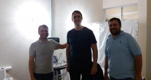 Prefeitura de Tavares….investimentos em Saúde Pública. Instalação do aparelho de ecografia.
