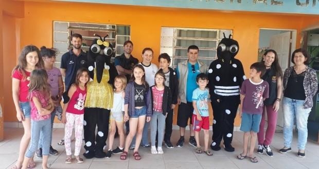 Tavares unida contra Dengue. Ações educativas de Vigilância Sanitária e Ambiental em Saúde 2019 (Prefeitura Municipal de Tavares)