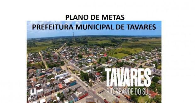 Prefeitura Municipal de Tavares apresenta em Audiência Pública Relatório de Gestão Social e realiza Ato de assinatura de Acordo de Resultados-Plano de Metas 2020