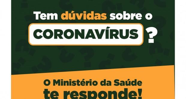 Prefeitura de Tavares orienta a população sobre o Novo Coronavírus.