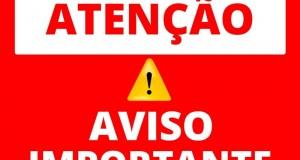 COMUNICADO DE SAÚDE PÚBLICA!!!