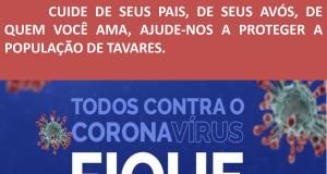 PREFEITURA DE TAVARES ALERTA!!!